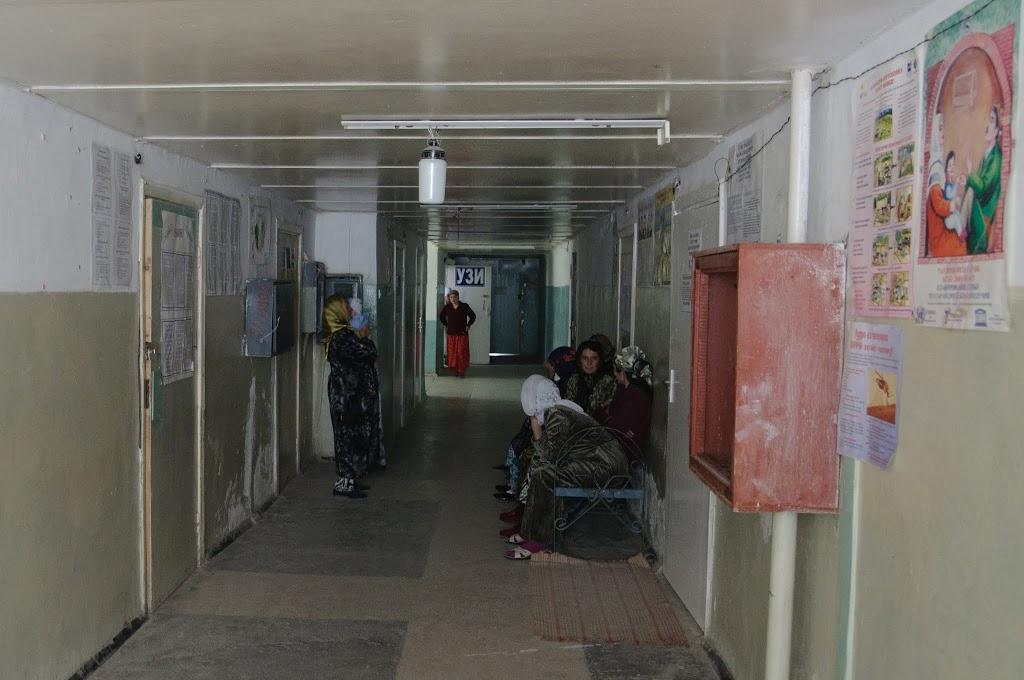 лікарня в Таджикистані