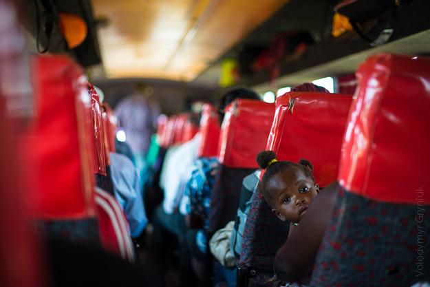 Африка Уганда автобус