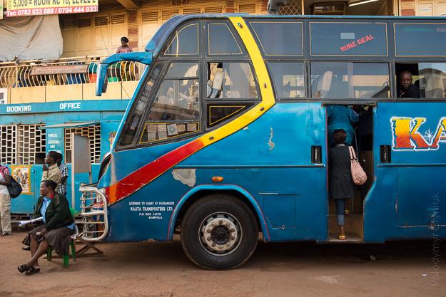 Африка Уганда транспорт