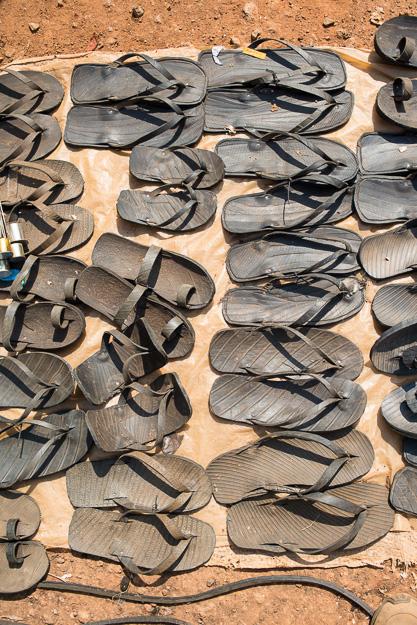 взуття тапки з автомобільгих шин покришок