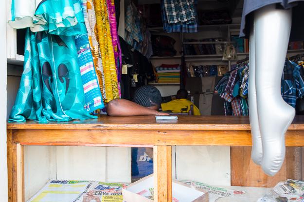Африка Уганда базар