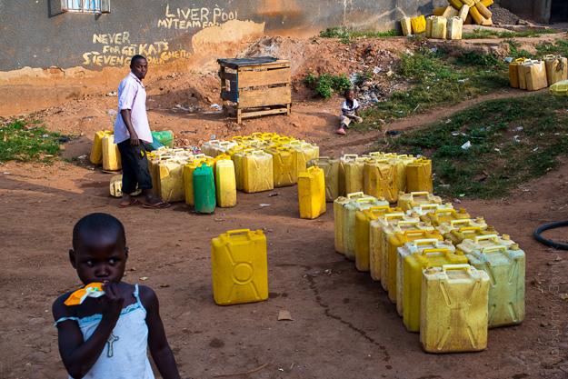 Африка Уганда Кампала трущоби