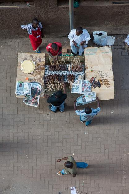 Вулична їжа. Кампала Уганда