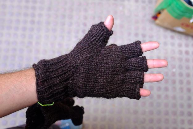 Одежа з Непалу шерстяні рукавички