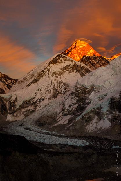Еверест Нупцзе Льодопад Кхумбу