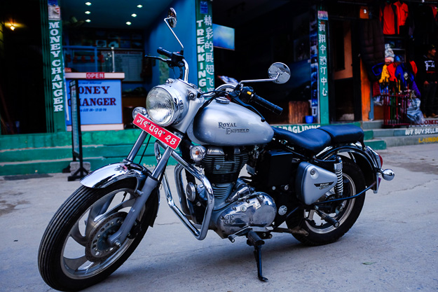 Royal Enfield Bullet 350. Роял Енфілд.