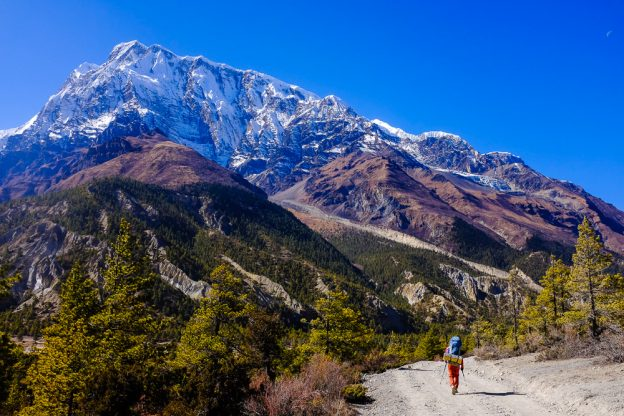 Трак навколо Аннапурни. Непал.