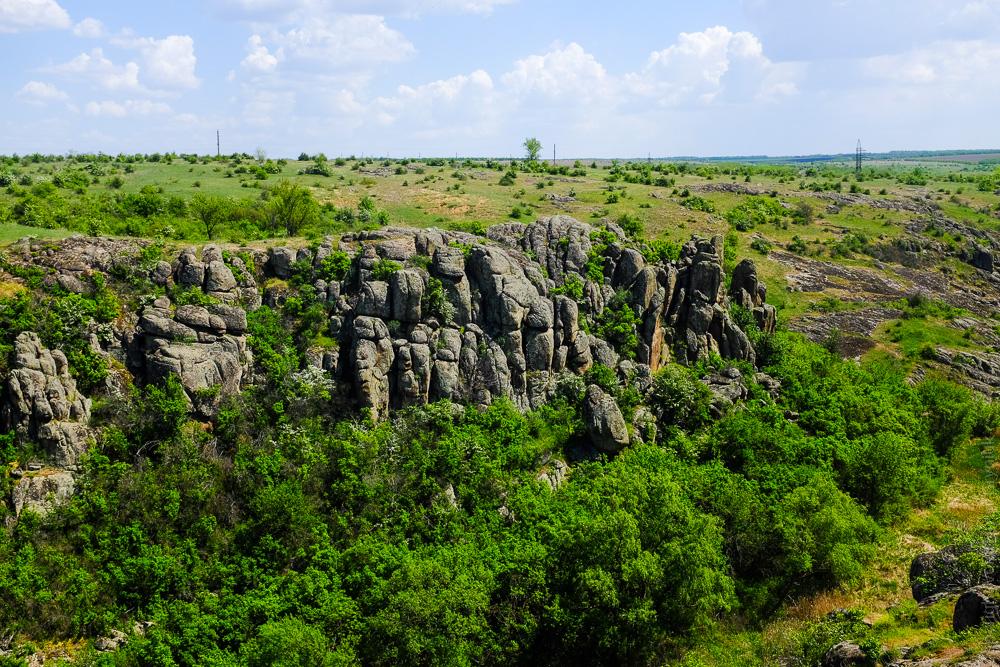 Актовский каньон херсонська область Україна