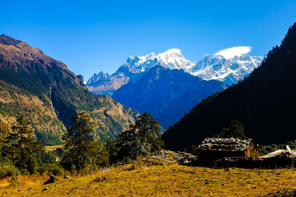 Масив Манаслу. Непал.