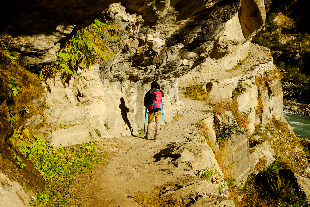 Трек в долину Нарфу