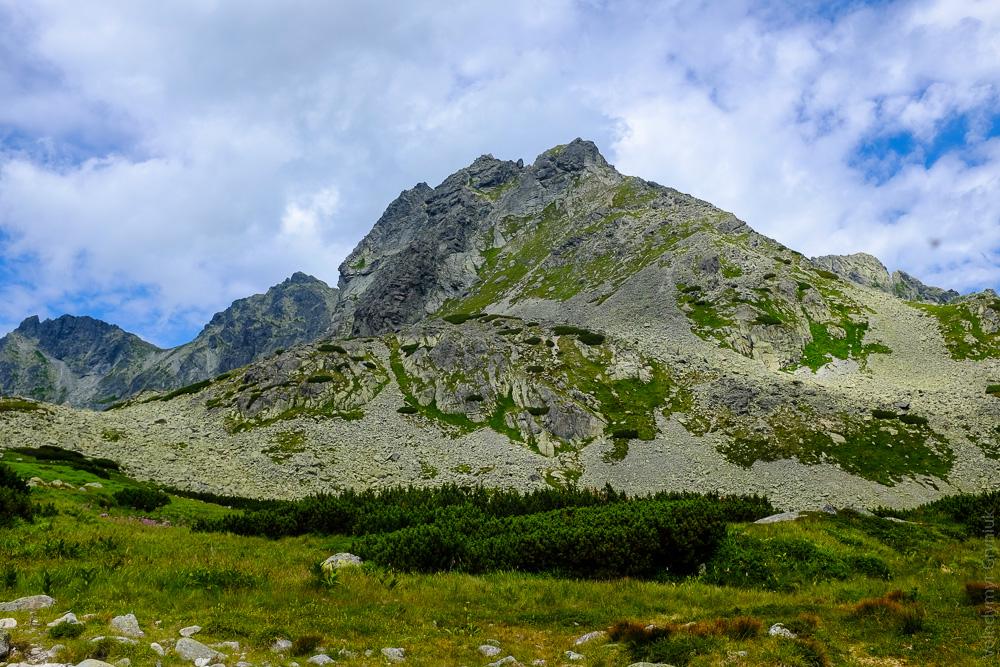 Копровський Штит. Високі Татри .Словаччина