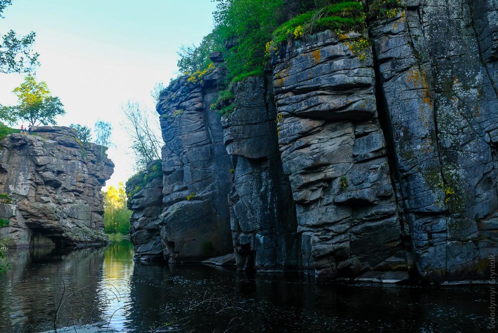 Буцький каньйон, Буцька ГЕС, село Буки Черкаської області