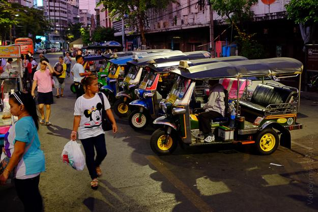 Таїланд Бангкок таксі тук-тук
