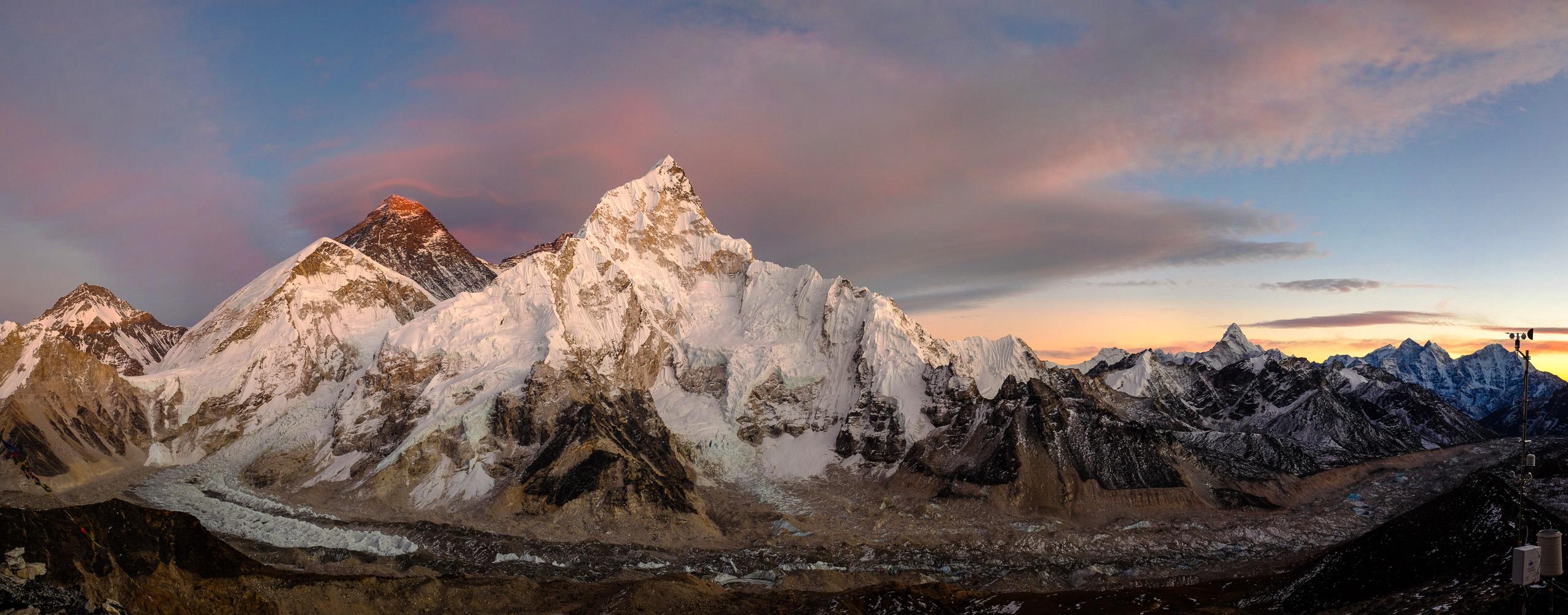 Еверест Нупцзе Ама Даблам