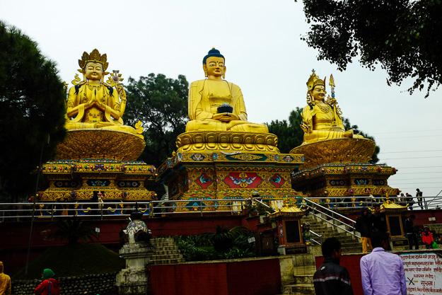 Непал, Катманду. Сваямбунатх