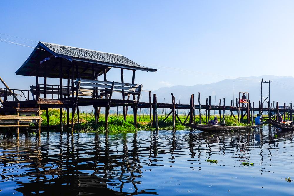 Озеро Інле М'янма (Бірма)