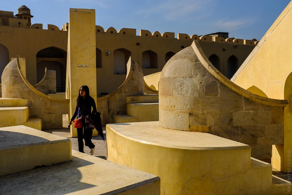 Раджастан Джайпур обсерваторія Джантар мантар
